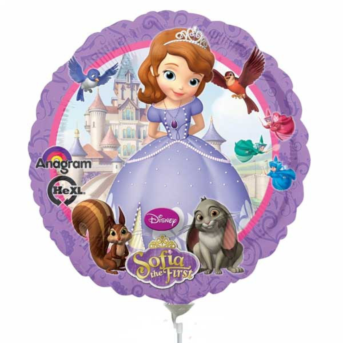 Balon mini folie printesa sofia