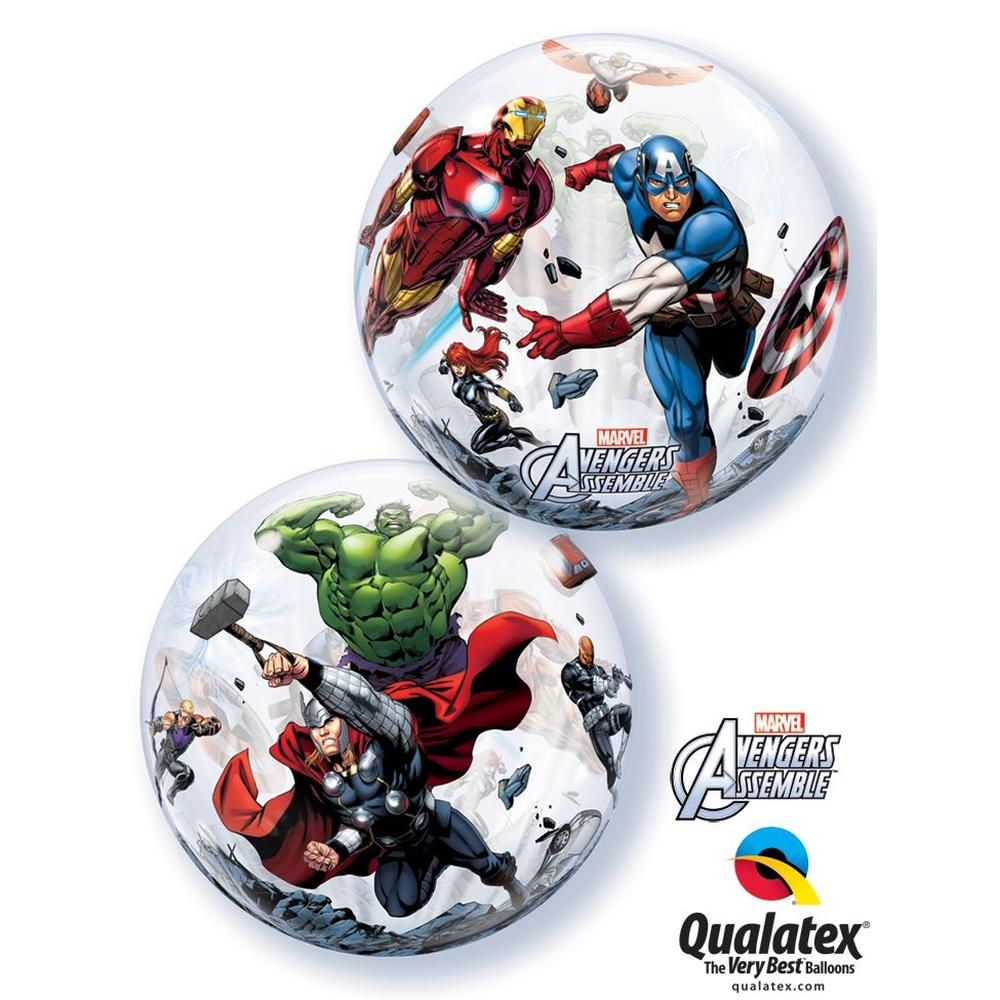 Balon bubble marvels avengers assemble 56 cm