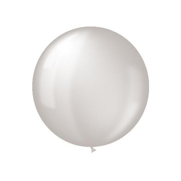 Balon latex jumbo transparent - 80 cm