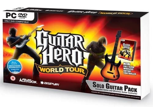 Joc Guitar Hero World Tour (include controller in forma de chitara)