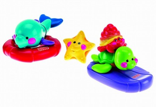 Fisher price-animale maritime pt baie