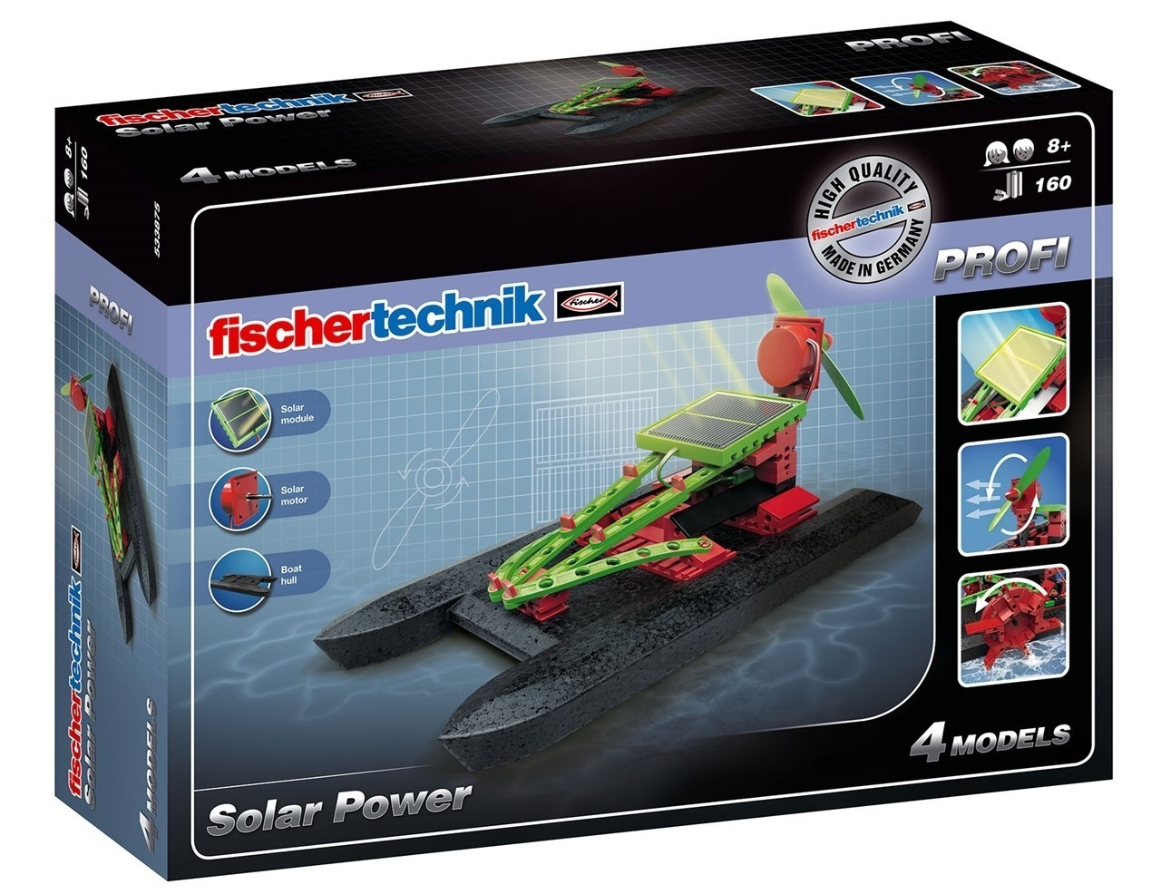 Set constructie profi solar power 4 modele