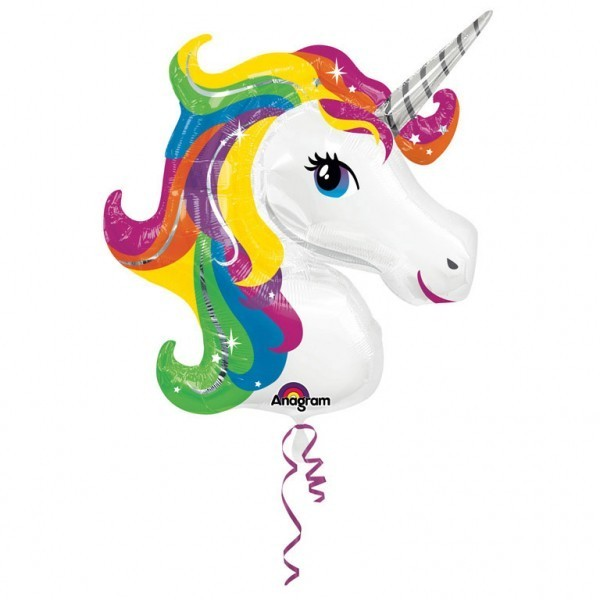 Balon folie unicorn gigant