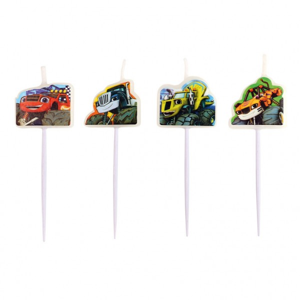 Set lumanari aniversare monster truck