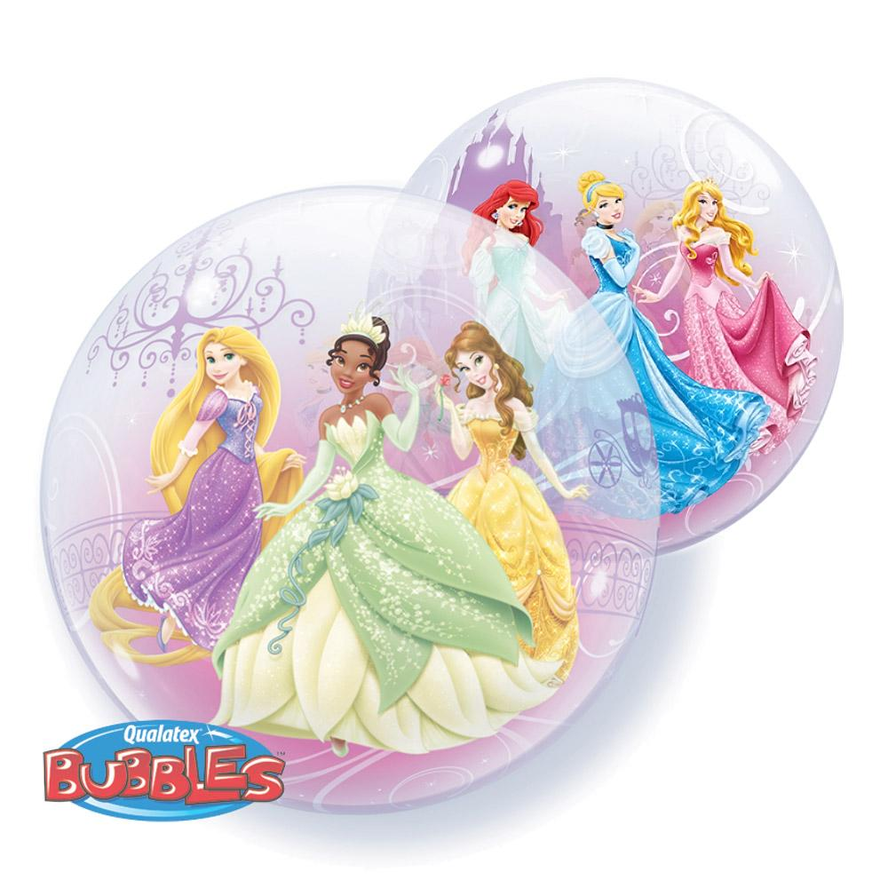 Balon bubble printese disney pastel 56 cm
