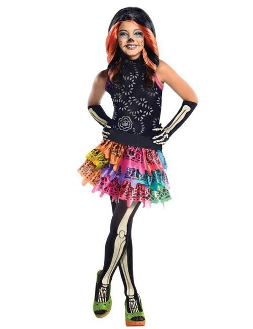 Costum Monster High copii Skelita Calaveras