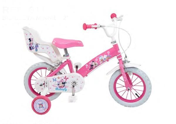 Bicicleta 12 minnie mouse club house fete