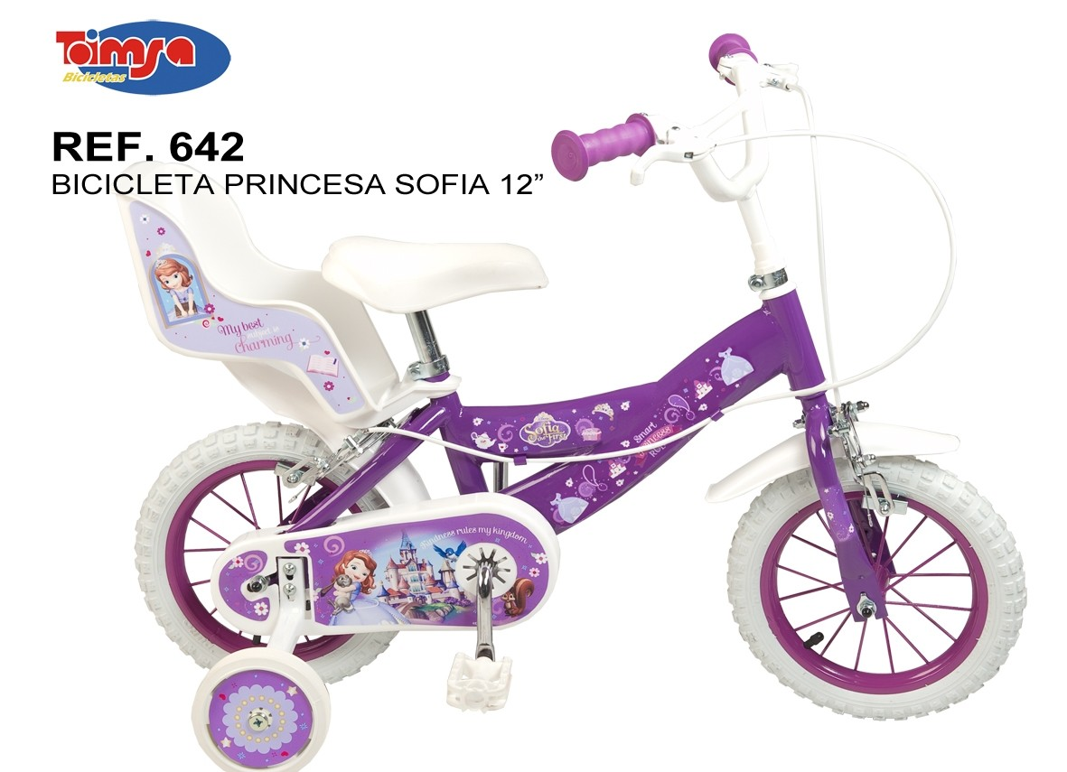 Bicicleta 12 sofia the first