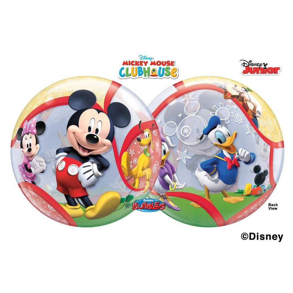 Balon bubble mickey mouse club 56 cm