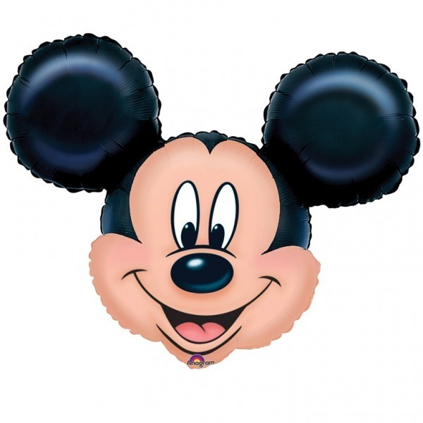 Balon folie figurina cap mickey mouse supershape