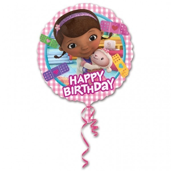 Balon folie 45 cm doctorita plusica happy birthday
