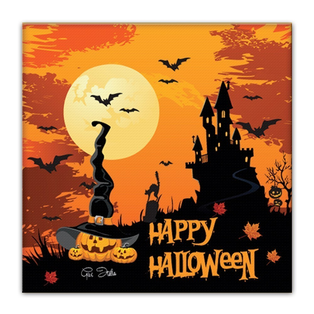 Set 20 servetele de masa happy halloween 33 x 33 cm
