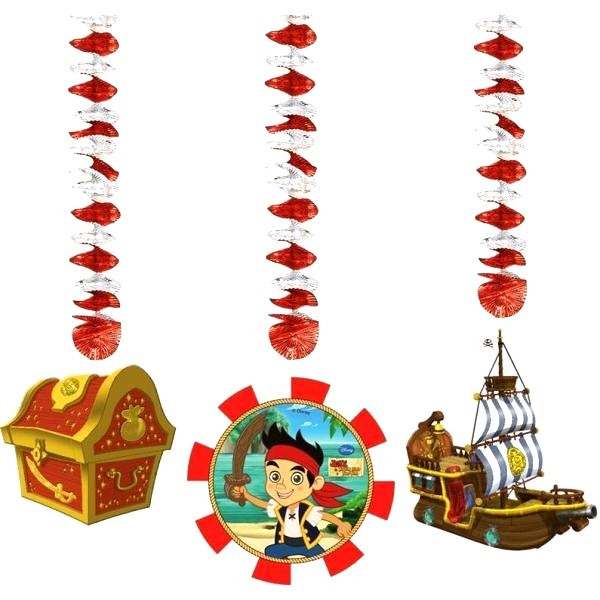 Set 3 decoratiuni spirale jake yo ho