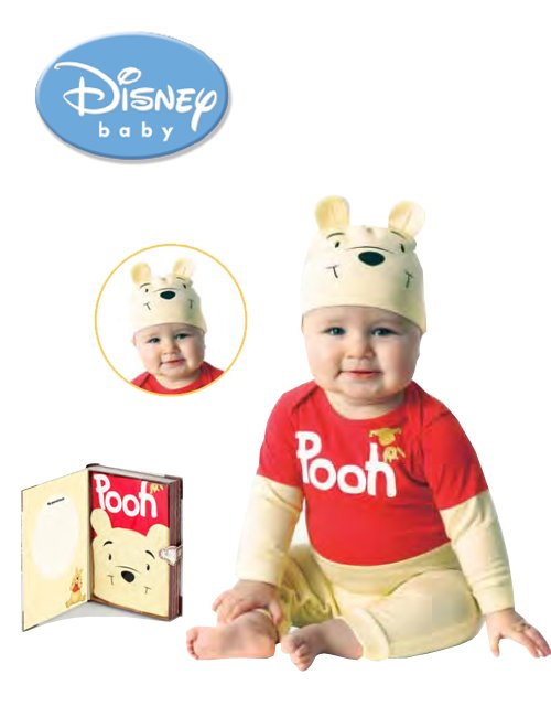 Pijama copii bebe Disney Winnie Playama