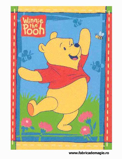Covor camera copii Happy Pooh