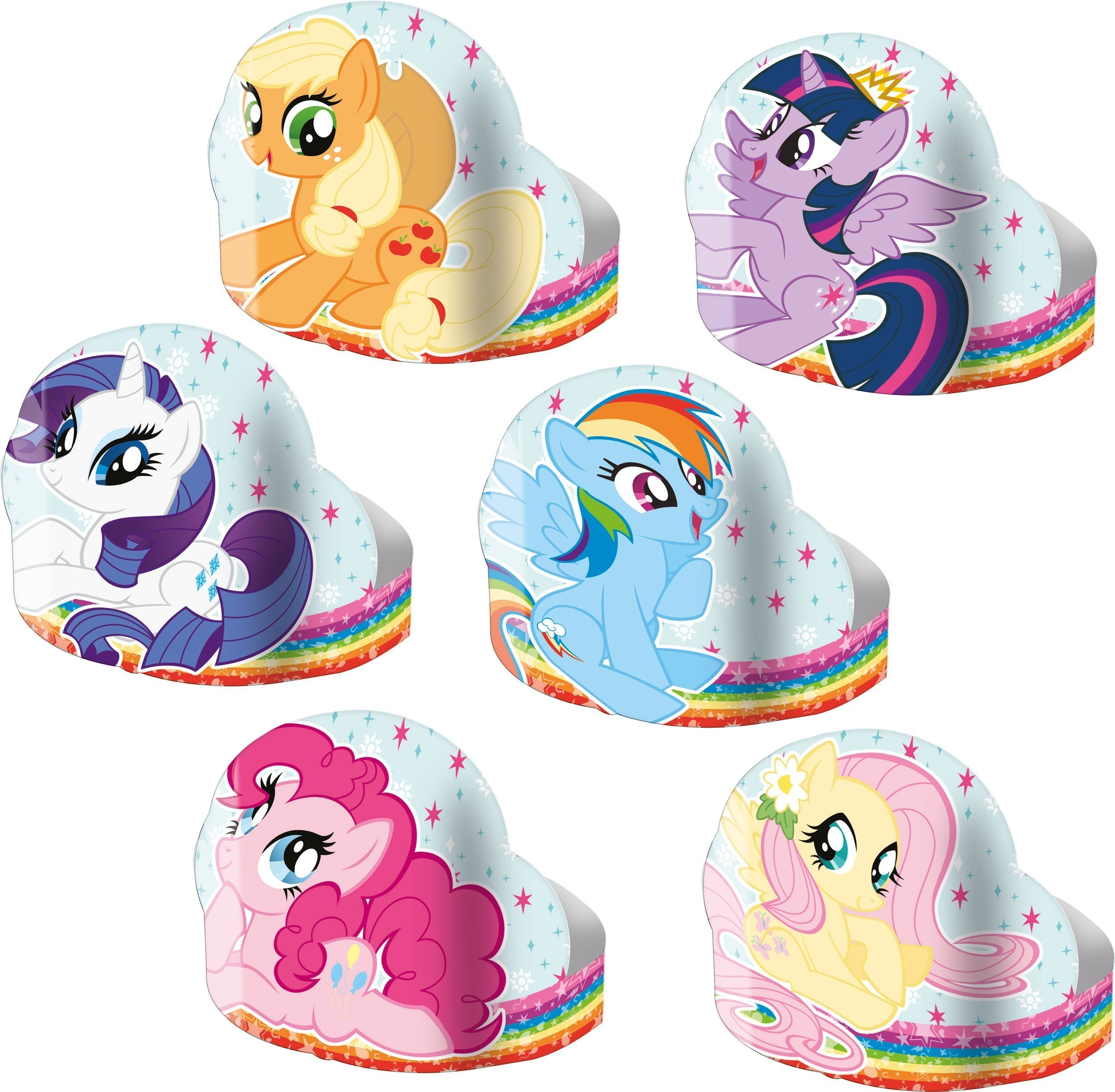Set 6 bandane party my little pony