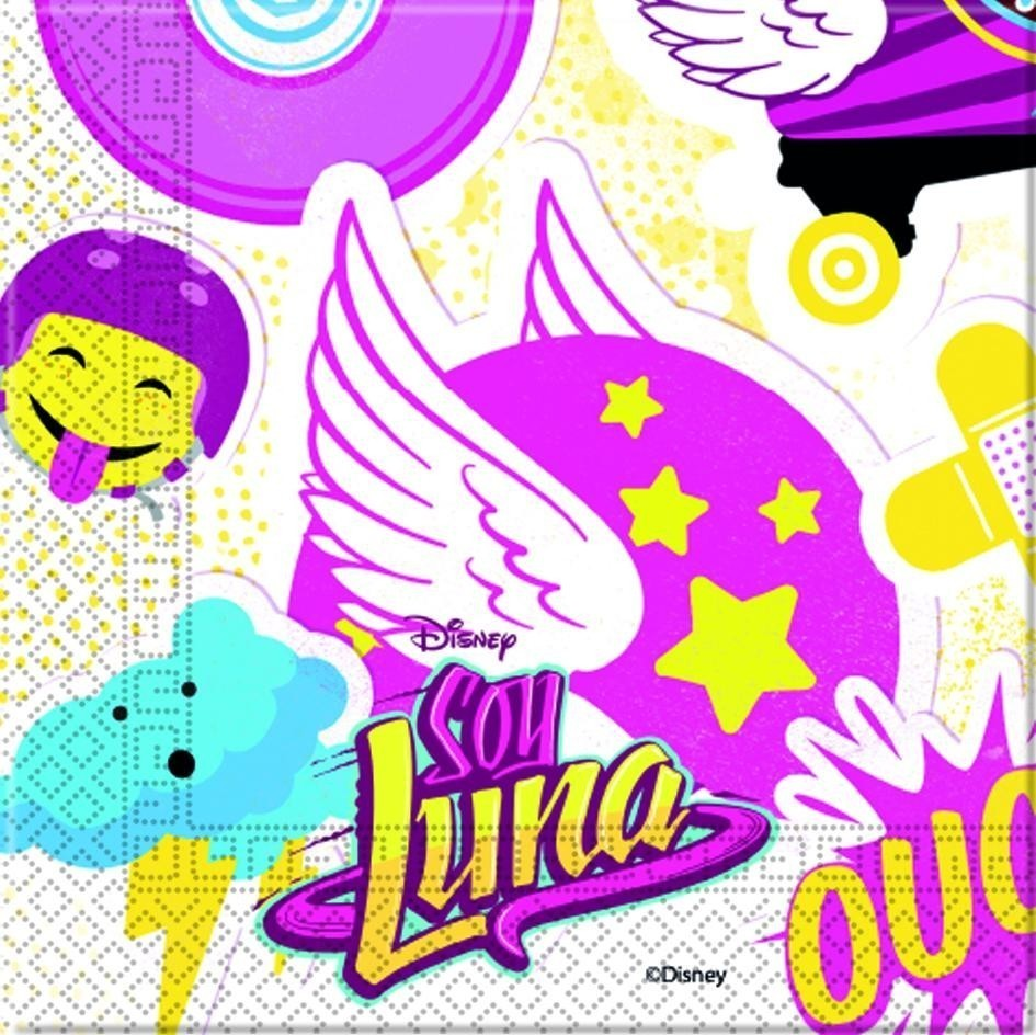 Set 20 servetele party soy luna
