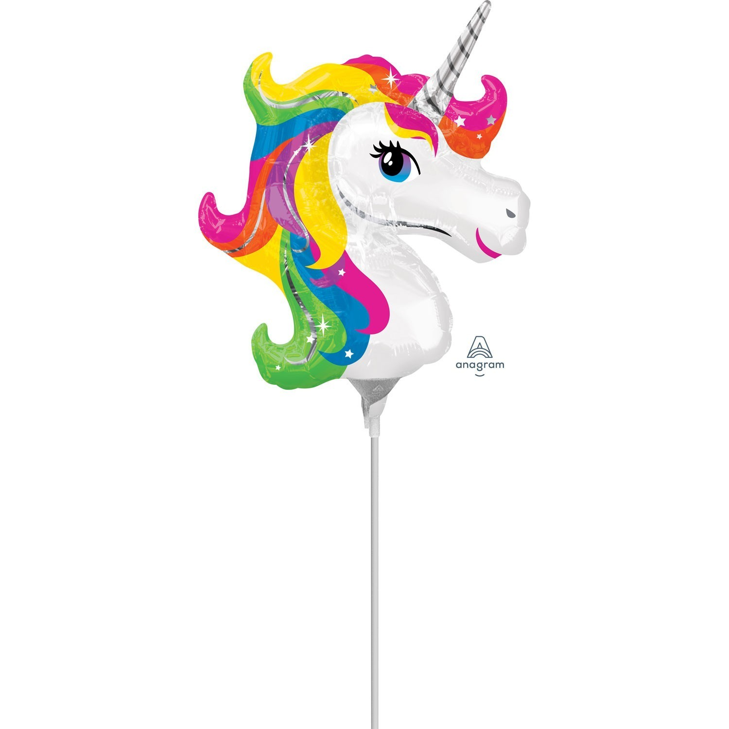 Balon mini figurina unicorn magic