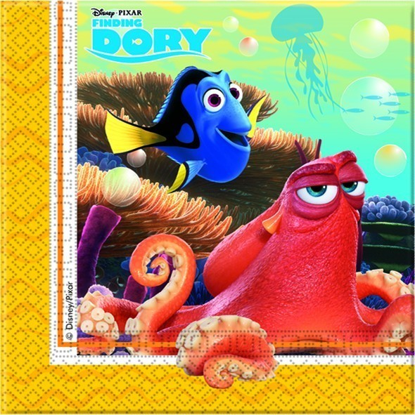 Set 20 servetele party finding dory