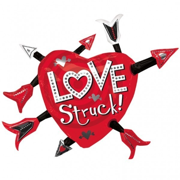 Balon folie figurina love struck 89 x 66 cm