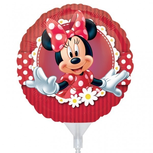 Balon mini folie minnie flowers