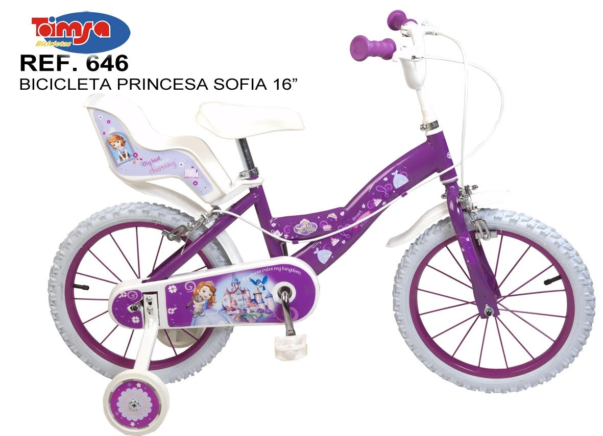 Bicicleta 16 sofia the first