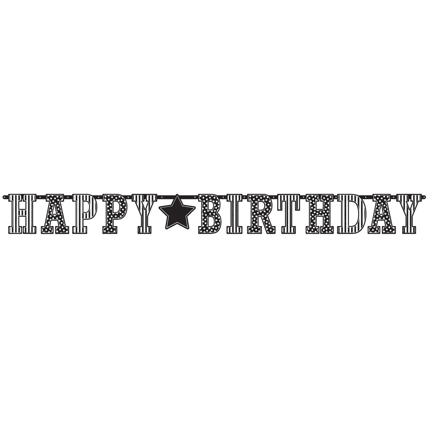 banner-decor-litere-Happy-Birthday-alb-negru