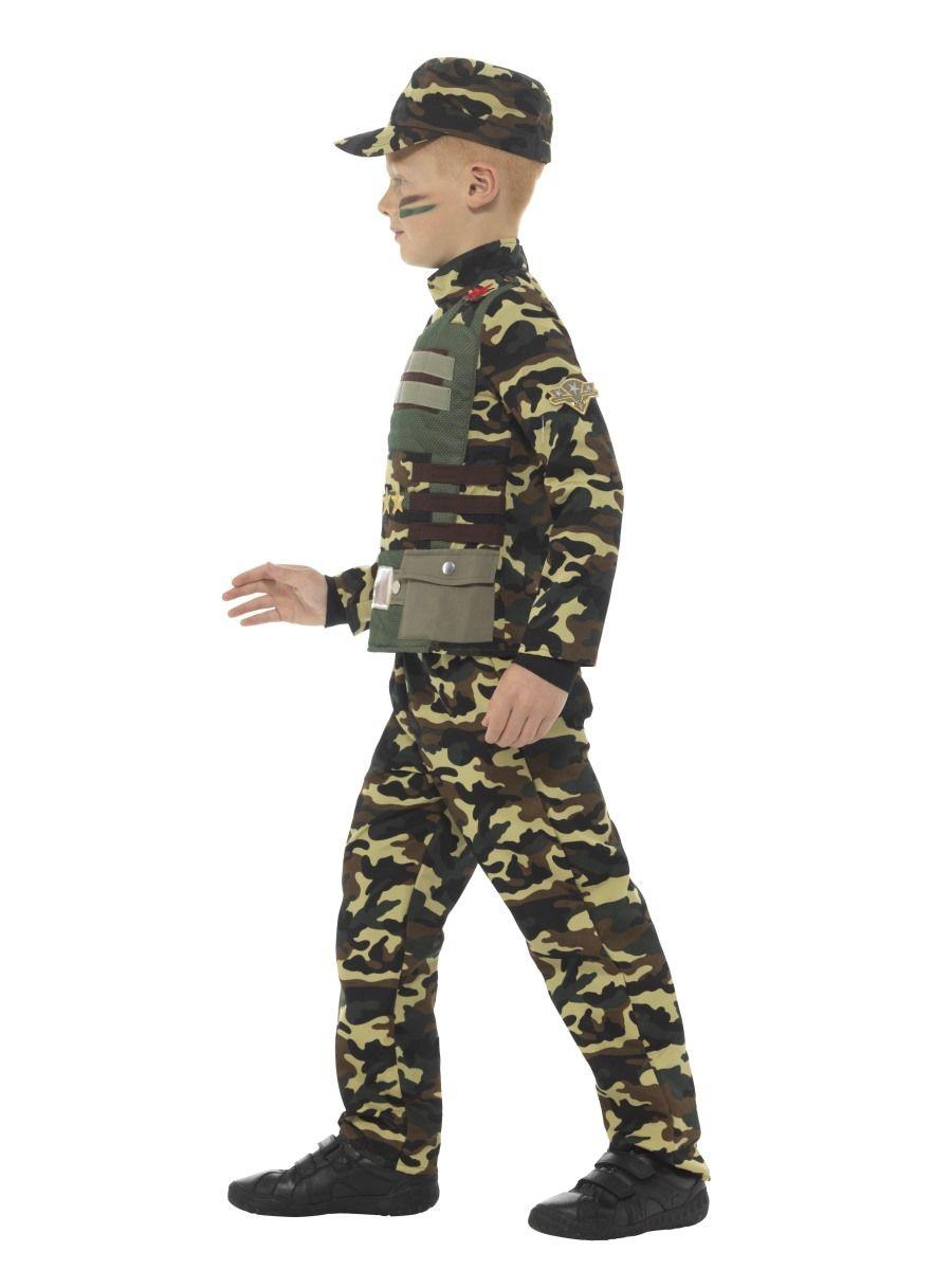 Costum Army Camuflaj Copii