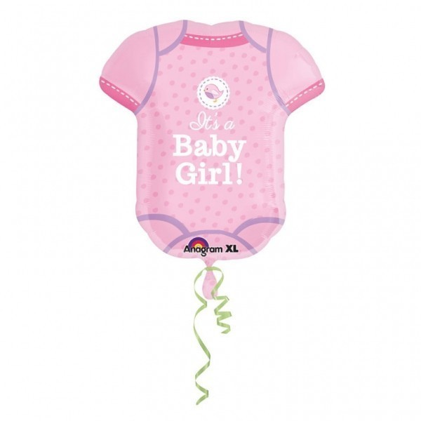 Balon folie figurina body its a baby girl