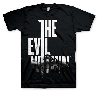 Tricou the evil within logo wired