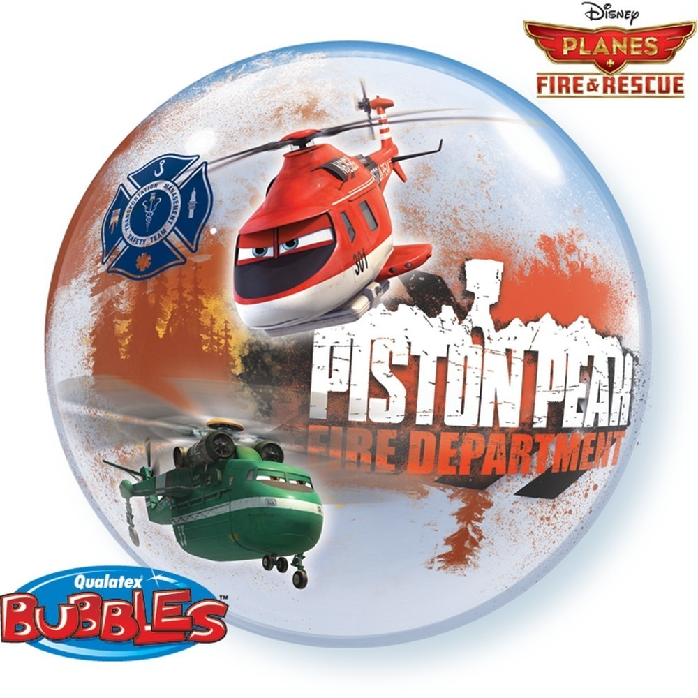 Balon bubble disney planes fire rescue 56 cm