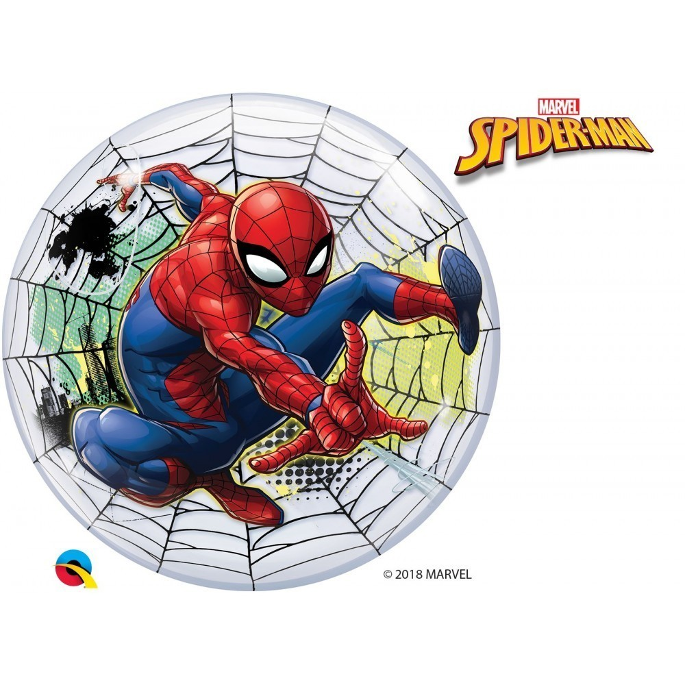 Balon bubble marvels spiderman web slinger 56 cm
