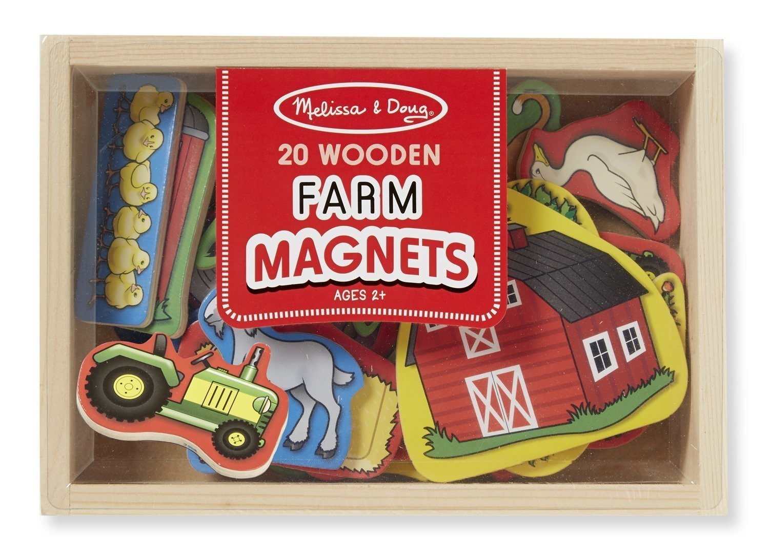 Ferma cu magneti melissa and doug