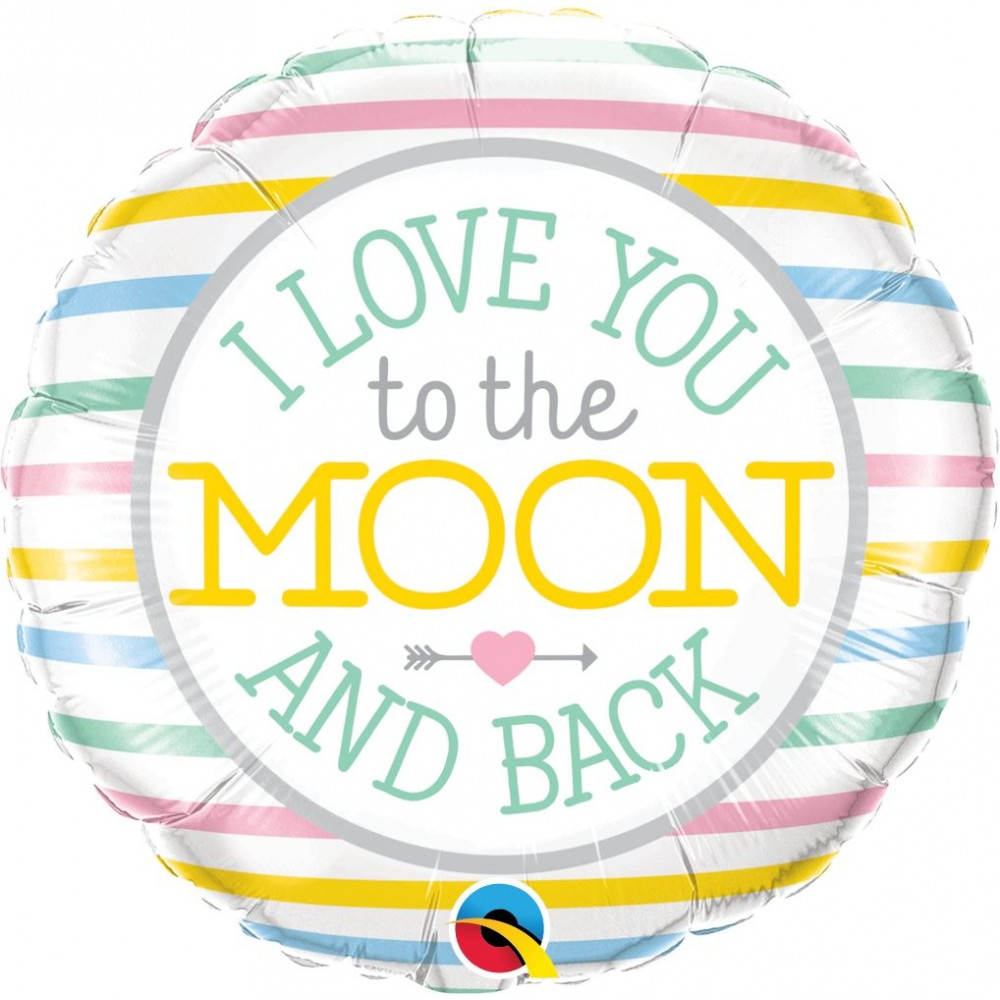 Balon-Folie-45-cm-Love-you-to-the-moon