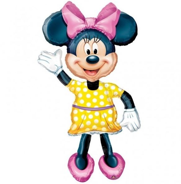 Balon Minnie Mouse Airwalker