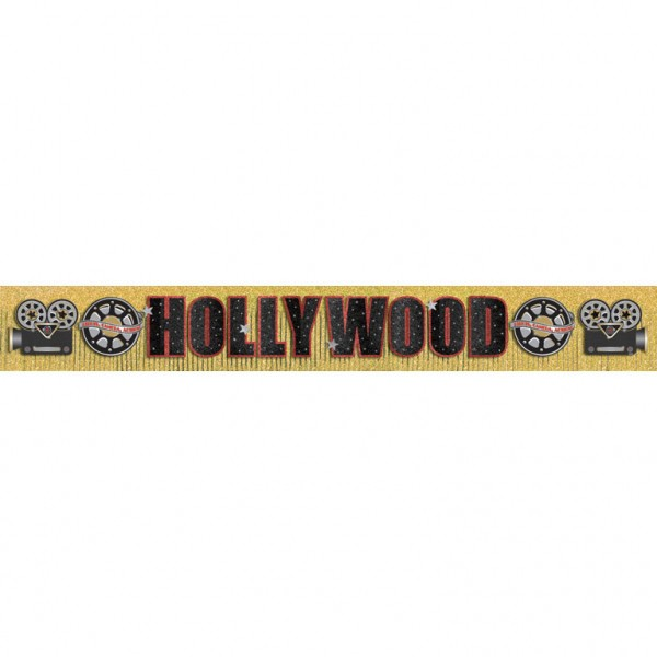 banner-decorativ-auriu-Hollywood-Movie-Party
