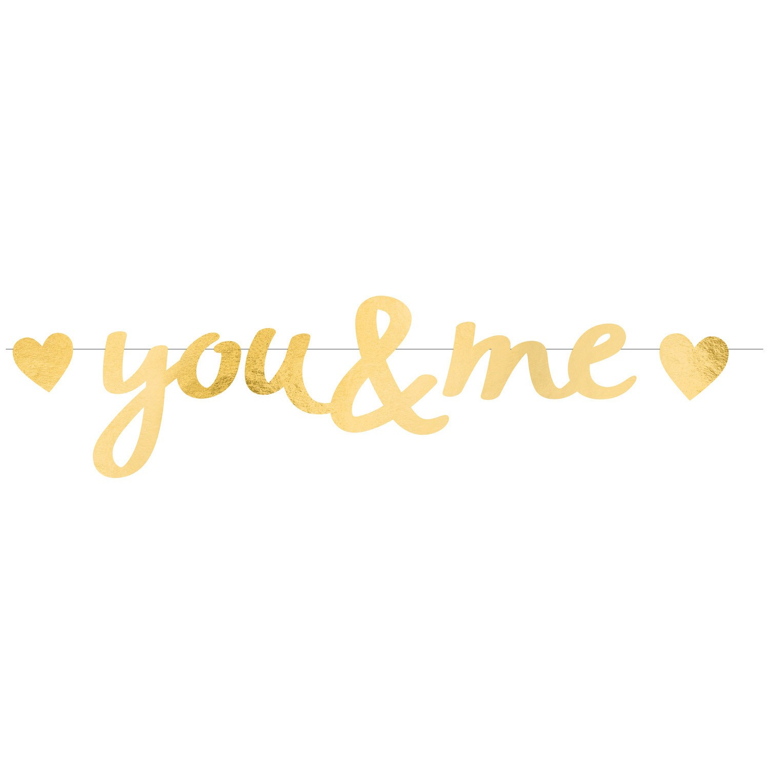 banner-litere-aurii-You-and-Me-Love
