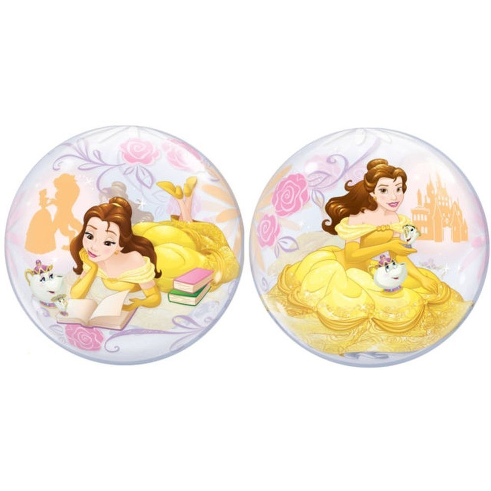 Balon bubble printese disney belle 56 cm