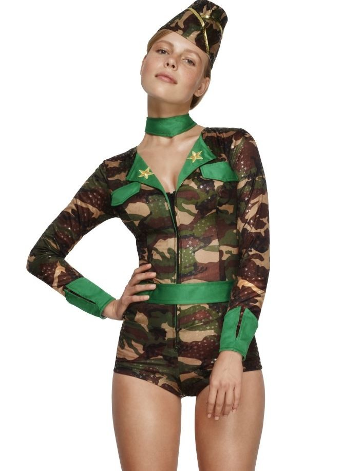 Costum Army femei body