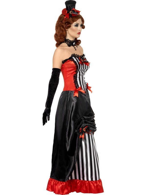 Costum dama de salon Halloween Vamp