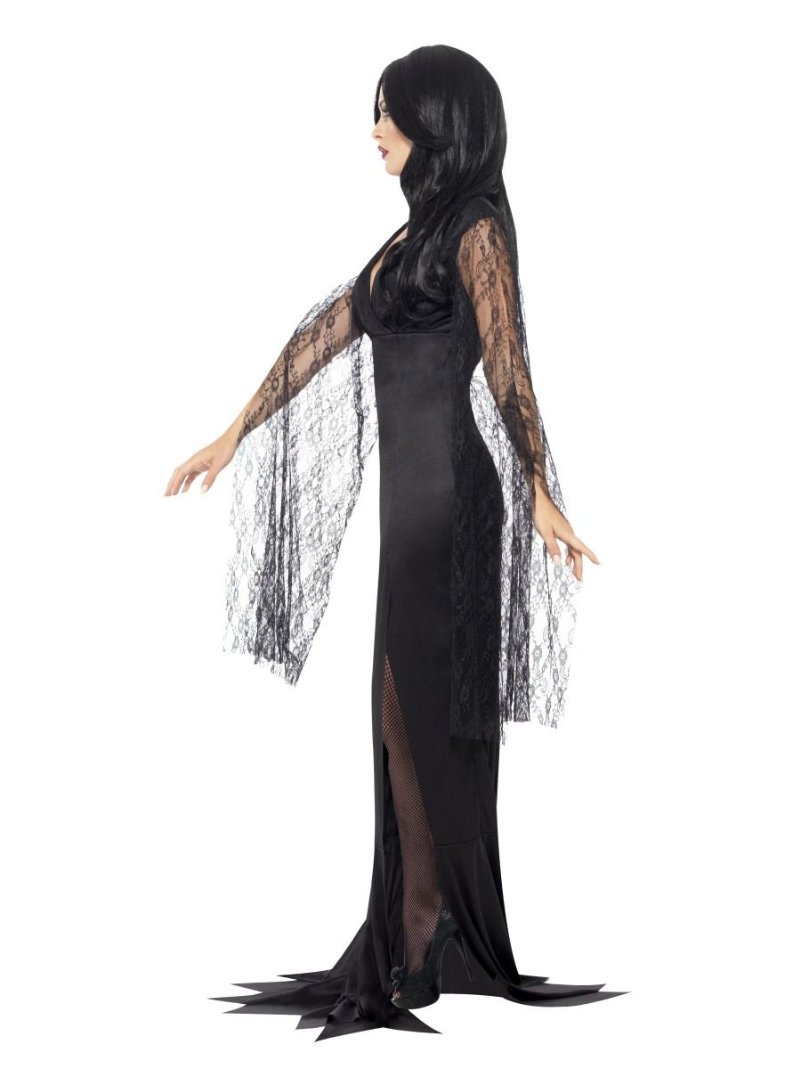 costum-halloween-morticia-eleganta