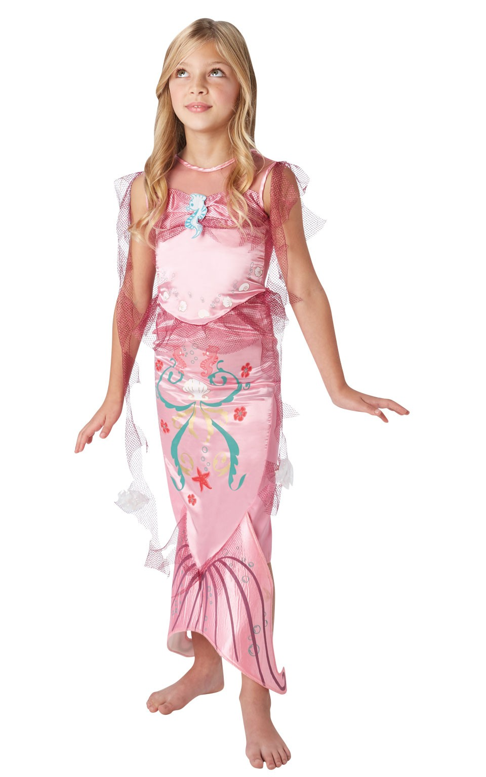 costum-sirena-Ariel-copii-disney