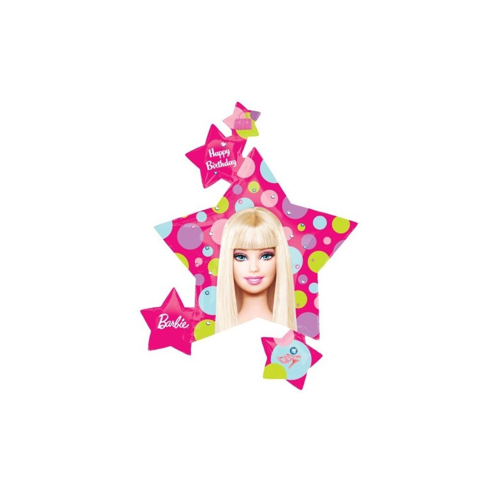 Balon folie figurina barbie stars