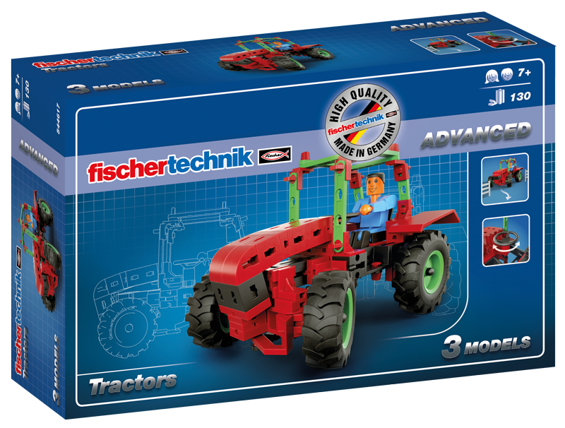 Set constructie advanced tractors 3 modele
