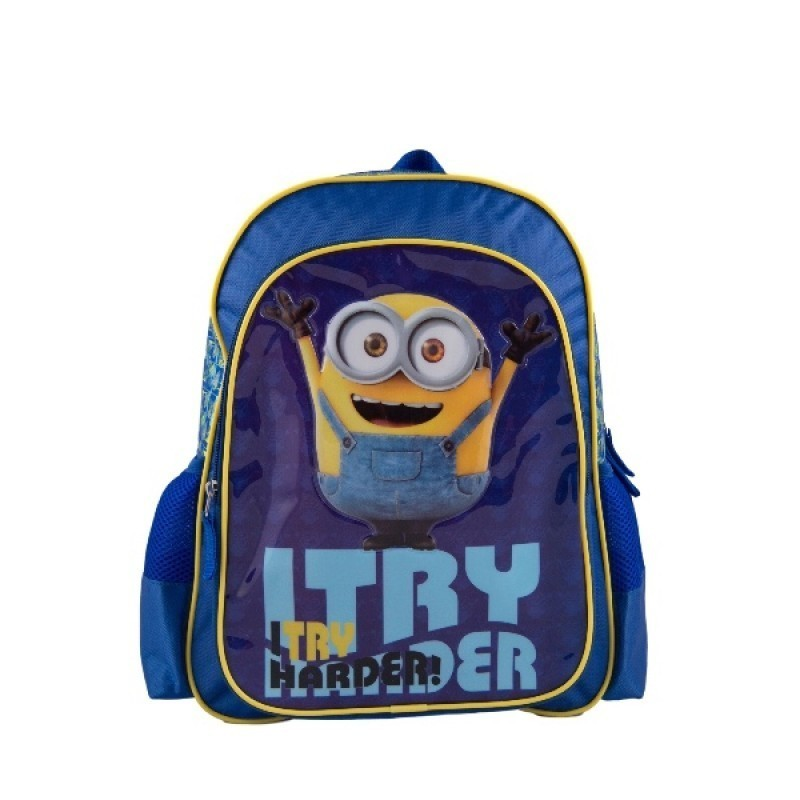 Ghiozdan-Minions-I-Try-Harder-40cm