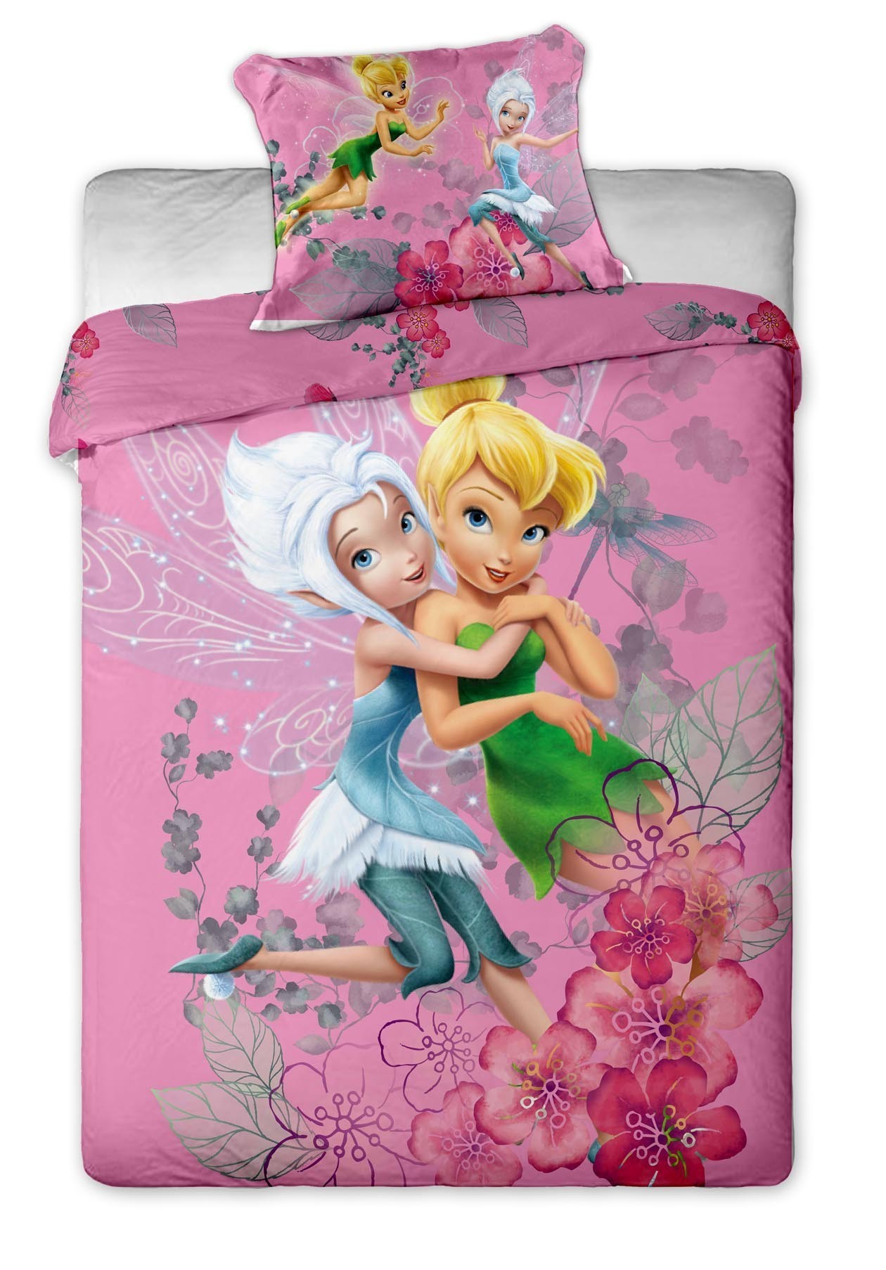 Lenjerie de pat copii Disney Fairies