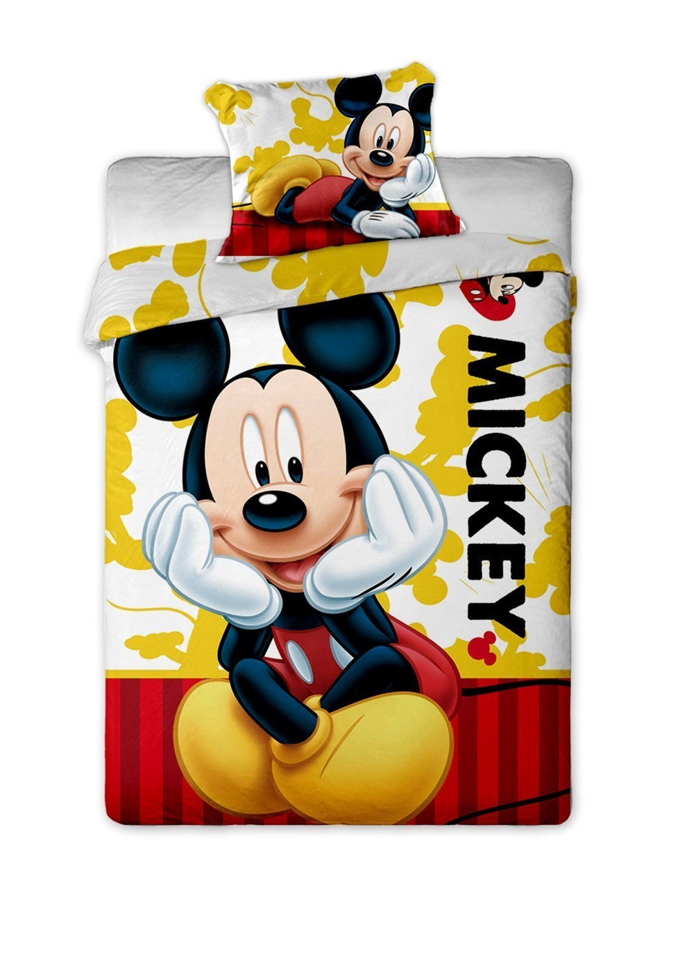Lenjerie de pat copii Disney Mickey Mouse