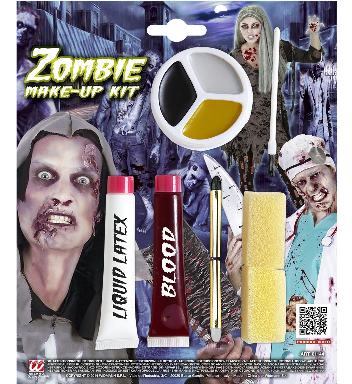 Machiaj Zombie Kit