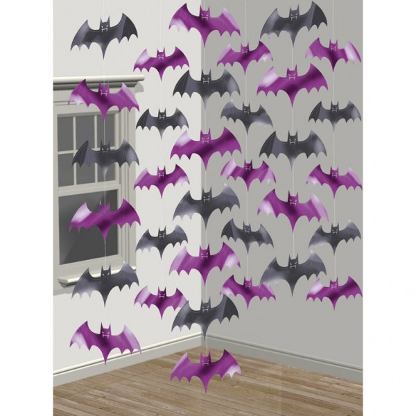 Set 6 ghirlande horror lilieci Batman