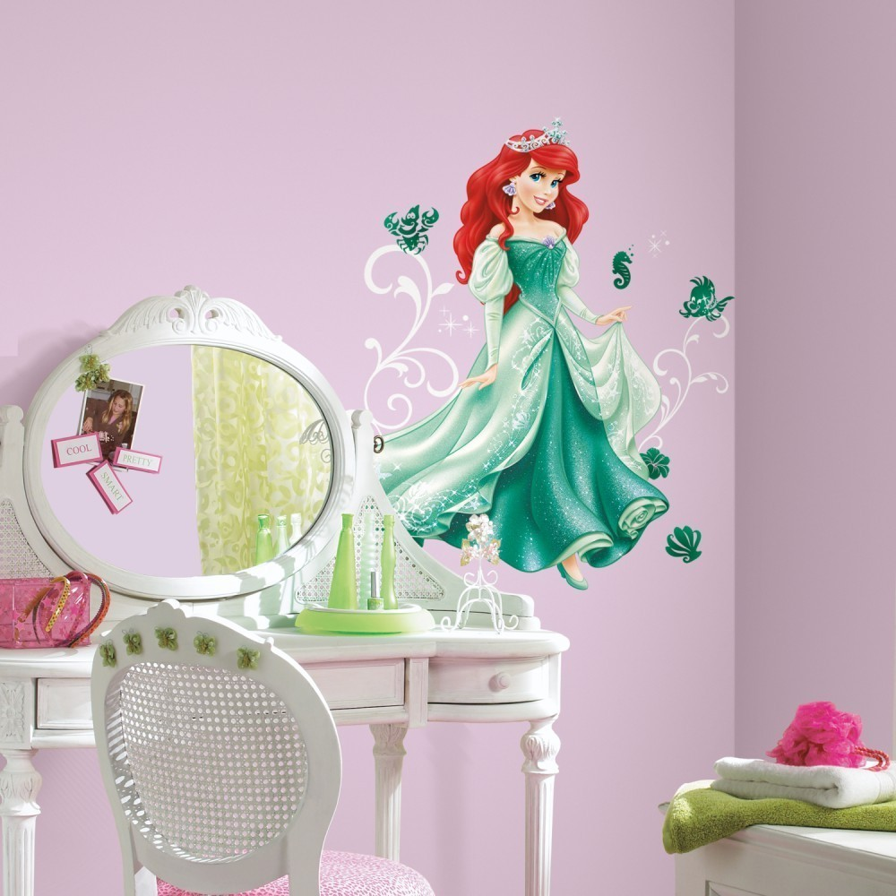 Sticker gigant Disney Printesa Ariel